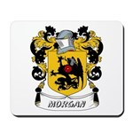 Morgan Coat of Arms Mousepad