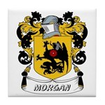 Morgan Coat of Arms Tile Coaster