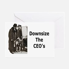 Downsize CEO's Greeting Card