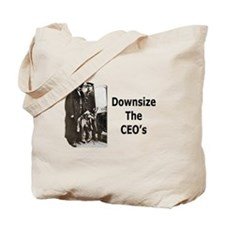 Downsize CEO's Tote Bag