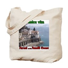 Atrani on the Amalfi Coast Tote Bag