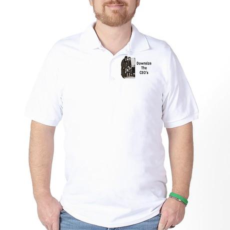 Downsize CEO's Golf Shirt