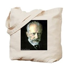 "Faces ""Tchaikovsky"" Tote Bag"