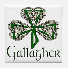 Gallagher Shamrock Tile Coaster