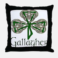 Gallagher Shamrock Throw Pillow