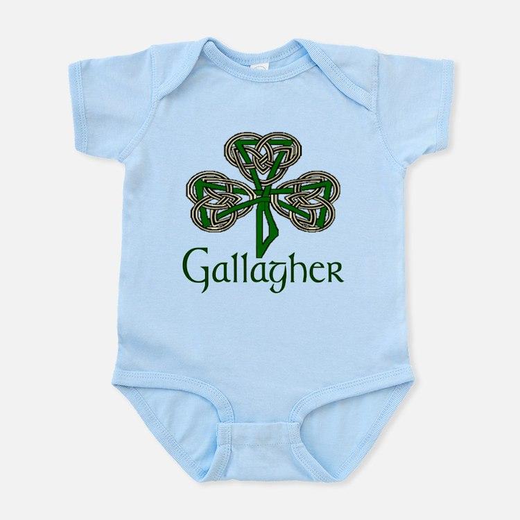 Gallagher Shamrock Infant Bodysuit