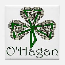 O'Hagan Shamrock Tile Coaster