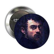 """Faces """"Tintoretto"""" 2.25"""" Button"""