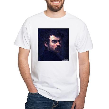 """Faces """"Tintoretto"""" White T-Shirt"""