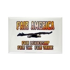 Fair America Rectangle Magnet