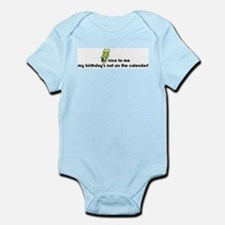 Be nice to me... Infant Bodysuit