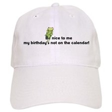 Be nice to me... Baseball Cap