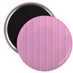 Pink Stripes Magnet