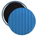"""Blue Stripes 2.25"""" Magnet (10 pack)"""