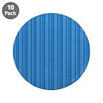 "Blue Stripes 3.5"" Button (10 pack)"