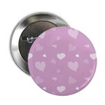 "Pink Hearts 2.25"" Button (100 pack)"