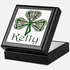 Kelly Shamrock Keepsake Box