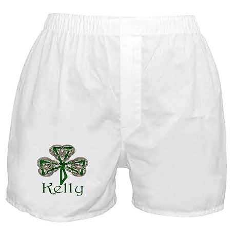 Kelly Shamrock Boxer Shorts