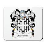 Norris Coat of Arms Mousepad