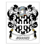 Norris Coat of Arms Small Poster