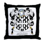 Norris Coat of Arms Throw Pillow