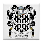 Norris Coat of Arms Tile Coaster