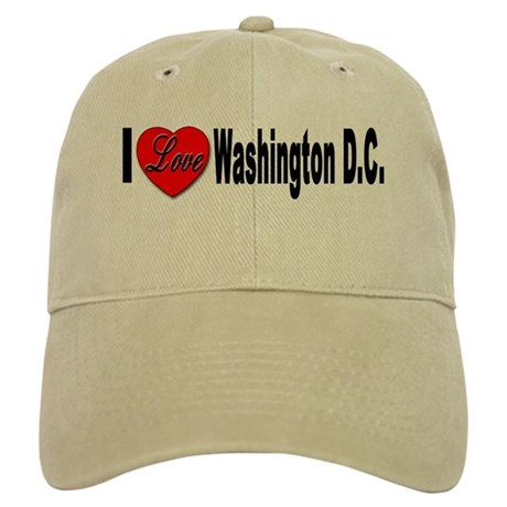 I Love Washington DC Cap