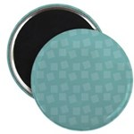 Teal Confetti Magnet