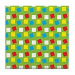 Bright Confetti Tile Coaster
