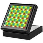 Bright Confetti Keepsake Box