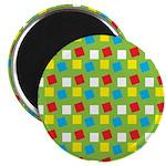 "Bright Confetti 2.25"" Magnet (100 pack)"