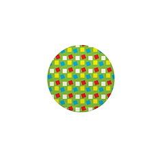 Bright Confetti Mini Button (100 pack)