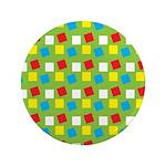 """Bright Confetti 3.5"""" Button"""