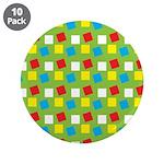 """Bright Confetti 3.5"""" Button (10 pack)"""