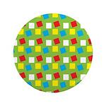 """Bright Confetti 3.5"""" Button (100 pack)"""
