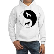 Yin Yang Schnauzer Hoodie