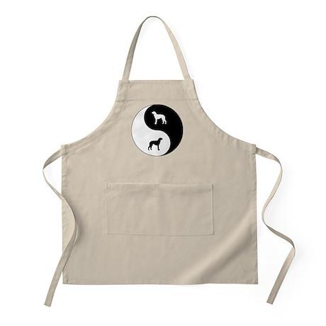 Yin Yang Deerhound BBQ Apron