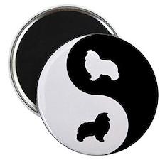 Yin Yang Sheltie Magnet