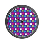 Girlie Confetti Wall Clock
