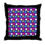 Girlie Confetti Throw Pillow