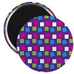 """Girlie Confetti 2.25"""" Magnet (100 pack)"""