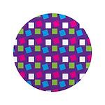 """Girlie Confetti 3.5"""" Button"""