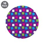 "Girlie Confetti 3.5"" Button (10 pack)"