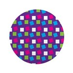 "Girlie Confetti 3.5"" Button (100 pack)"