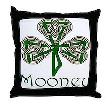 Mooney Shamrock Throw Pillow