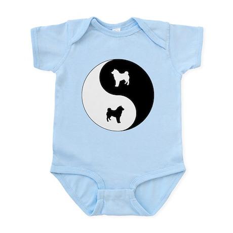 Yin Yang Shiba Inu Infant Bodysuit