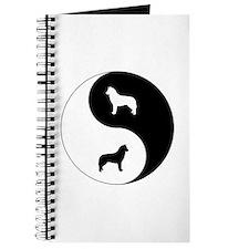 Yin Yang Husky Journal