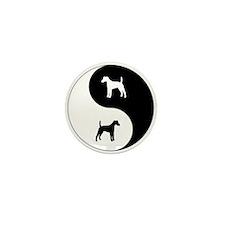 Yin Yang Smooth Fox Mini Button (10 pack)