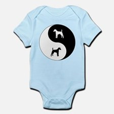 Yin Yang Smooth Fox Infant Bodysuit