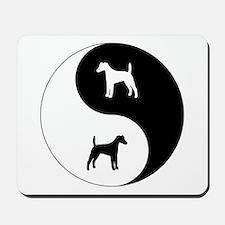 Yin Yang Smooth Fox Mousepad